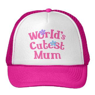 Mum Gift Idea For Her (Worlds Cutest) Cap