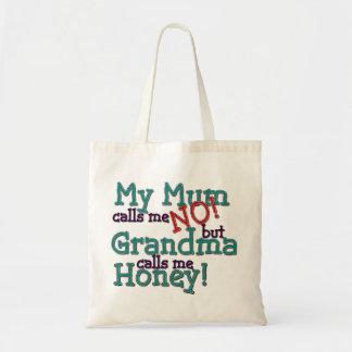 Mum & Grandma Budget Tote Bag