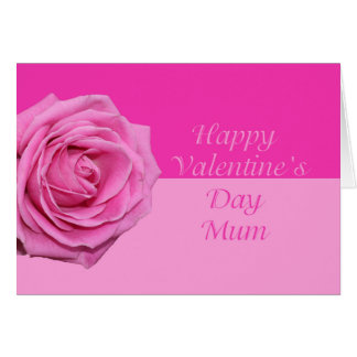 Mum Happy Valentine's Day Roses Card