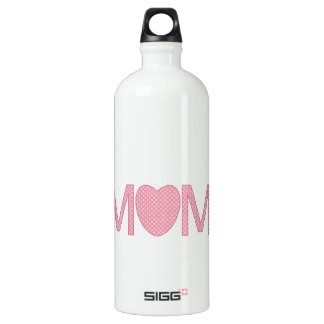 Mum Hearts And Flowers Water Bottle