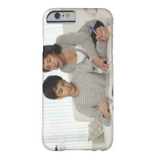 mum helping son with homework barely there iPhone 6 case