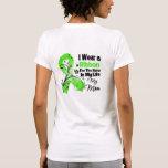 Mum Hero in My Life Lymphoma Ribbon