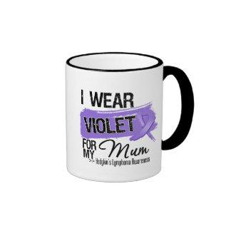 Mum Hodgkins Lymphoma Ribbon Coffee Mug