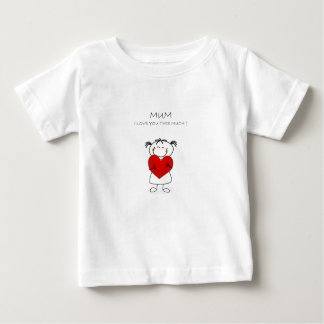 mum i love u this much baby T-Shirt