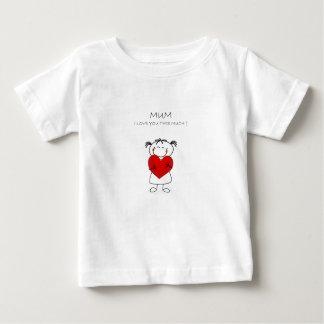 mum i love u this much tshirts