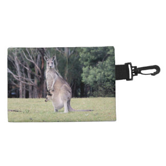 Mum Kangaroo with Baby Joey in Her Pouch Accessories Bag