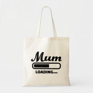 Mum loading budget tote bag