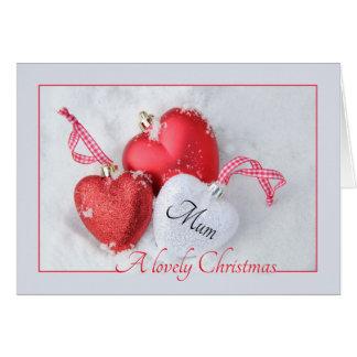 Mum  Merry Christmas card