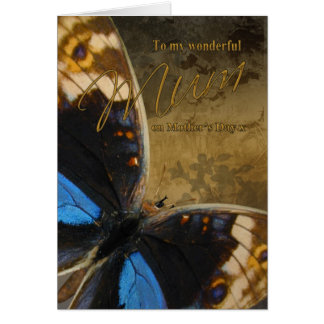 Mum Mother s Day Card With Butterflies