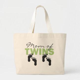 Mum of Twins Jumbo Tote Bag