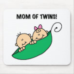 Mum of Twins-Peas in a Pod Tshirts and Gifts