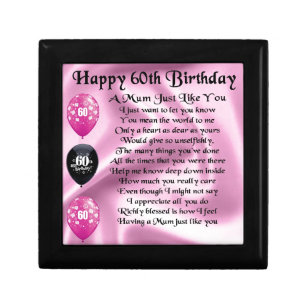 Mums 60th Birthday Gifts Gift Ideas