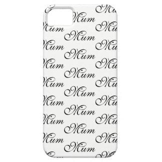 MUM Script Design Phone Case or iPad Case