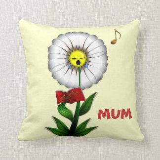 Mum Singing Daisy Cushion