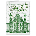 Mum St. Patrick's Day Card - Clover Gate And Butte