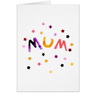 Mum Stars Card