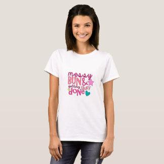 Mum T-Shirt, Messy Bun Shirt, Funny Mum Shirt