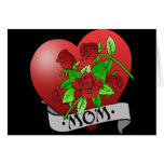Mum Tattoo Gifts and T-shirts Greeting Cards