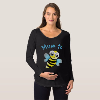 Mum To Be! Cute Bee Design Maternity T-Shirt