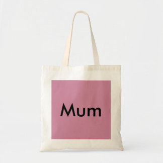 Mum tote bag mothers day