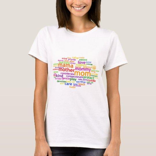 Mum Wordle T-Shirt