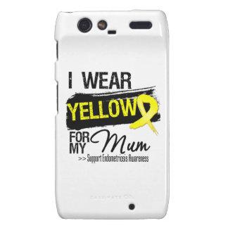 Mum Yellow Ribbon Endometriosis Droid RAZR Cover