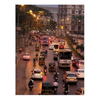 Mumbai street postcard