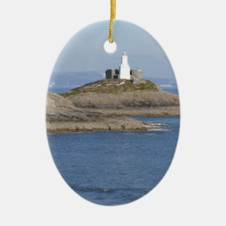 Mumbles Lighthouse, Mumbles Christmas Ornament