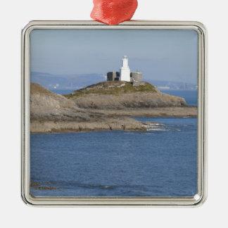 Mumbles Lighthouse, Mumbles Christmas Ornament