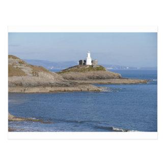 Mumbles Lighthouse, Mumbles Postcard