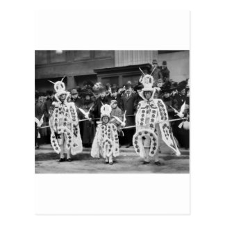 Mummers Parade New Years Day 1909 Post Card