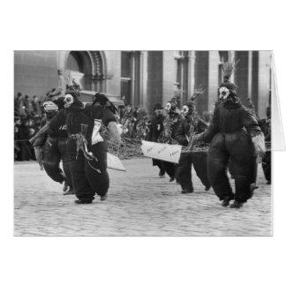Mummers Parade, Philadelphia, 1909 Card