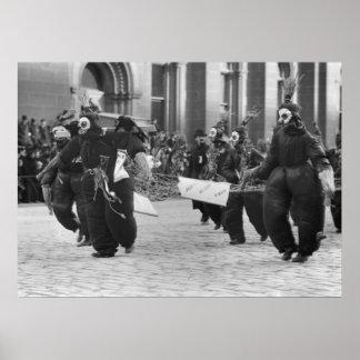 Mummers Parade, Philadelphia, 1909 Poster
