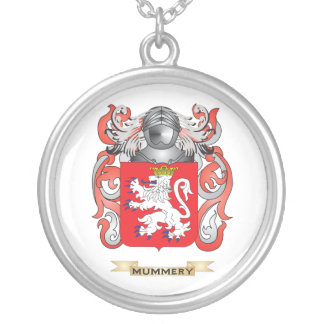 Mummery Coat of Arms Family Crest Necklace