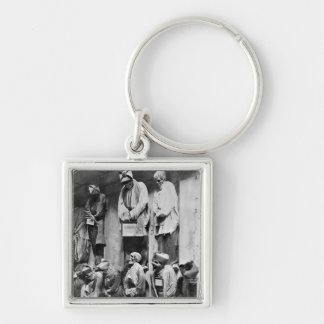 Mummies of catacomb in Palermo, Italy Key Ring