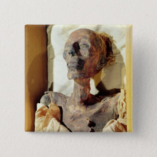 Mummified body of Ramesses II  found in a tomb 15 Cm Square Badge