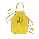 Mummy and me apron