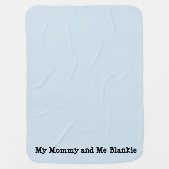 Mummy and Me Blankie Baby Blanket