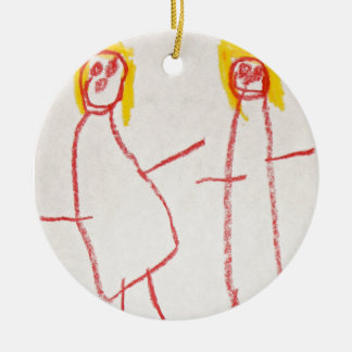 Mummy and Me Christmas Ornament