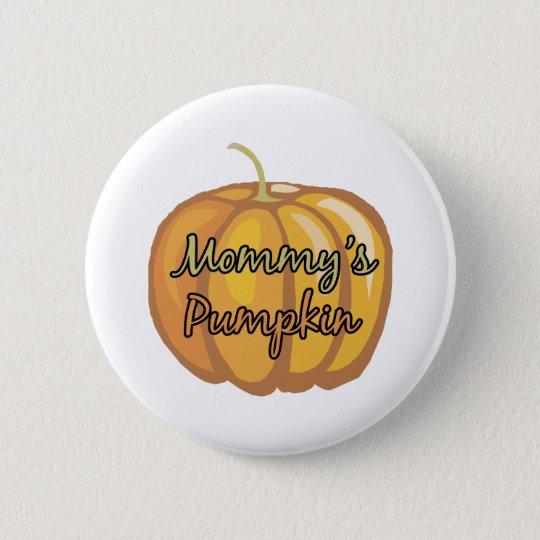 Mummy's Pumpkin 6 Cm Round Badge