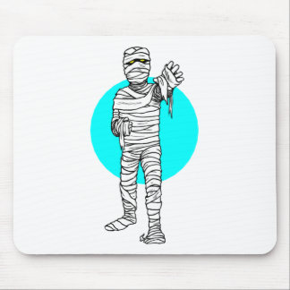 Mummy Attack Mouse Pads