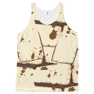 Mummy Bandage Costume All-Over Print Tank Top