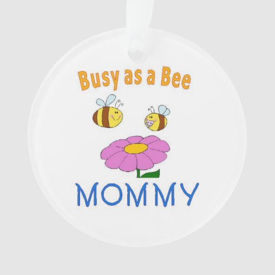 Mummy Busy as a Bee Ornament