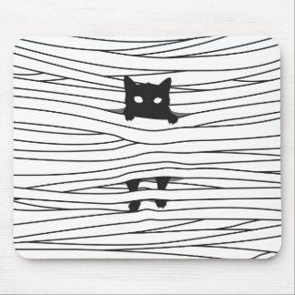 Mummy Cat mousepad. Mouse Mat
