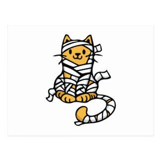 Mummy Cat Postcard