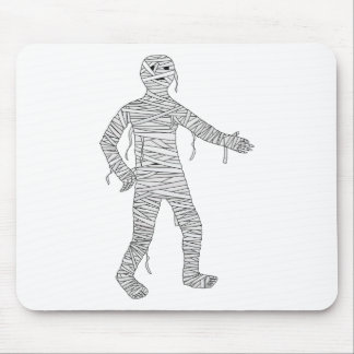 Mummy Design #1 Mouse Pad