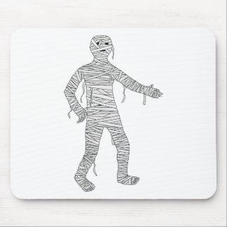 Mummy Design #1 Mouse Pad