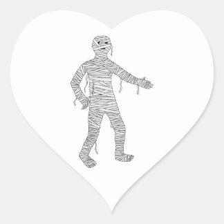 Mummy Design #1 Sticker