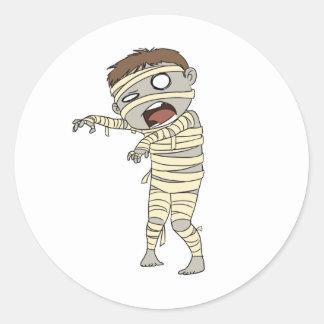 Mummy Design #3 Stickers