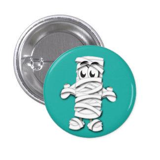 Mummy Halloween Button